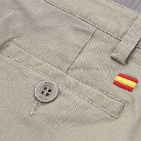 Pantalón caballero beige · Equipo Nacional