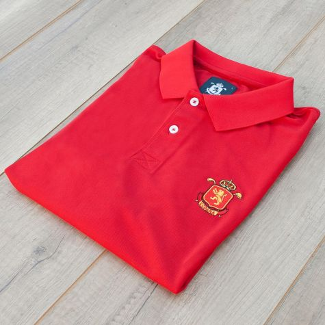 Polo caballero España Rojo · Equipo Nacional