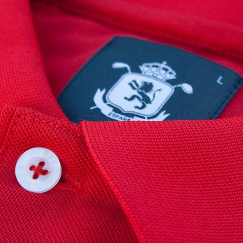 Polo niño España Rojo · Equipo Nacional