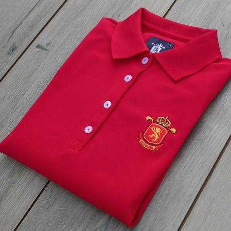 Polo niña España Rojo · Equipo Nacional