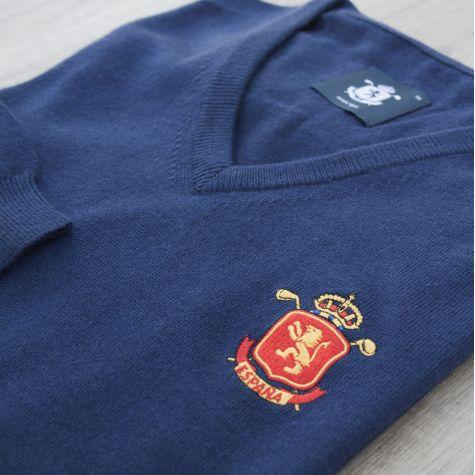 Jersey niño España Marino · Equipo Nacional