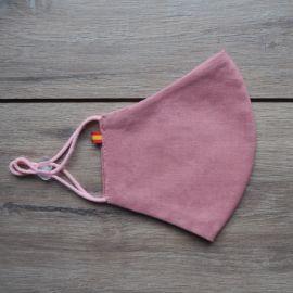 Mascarilla Higiénica ESPAÑA Reutilizable Rosa 30 lavados (0,48 € /uso)