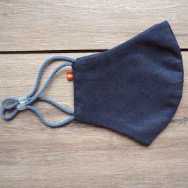 Mascarilla Higiénica ESPAÑA Reutilizable Azul 30 lavados  (0,48 € /uso)