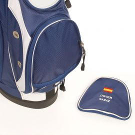 Bolsa RFEG Trípode Azul Personalizada con NOMBRE