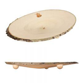 Plato grande o bandeja de madera · Edición Limitada