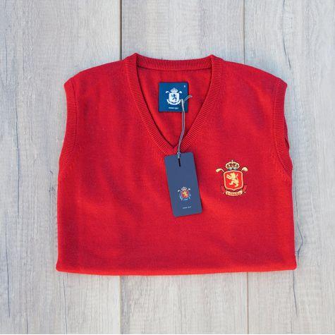 Chaleco caballero España Rojo · Equipo Nacional