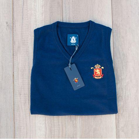 Chaleco dama España Marino · Equipo Nacional