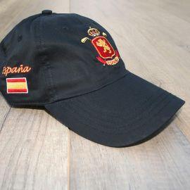 Gorra Equipo Nacional ESP Negro