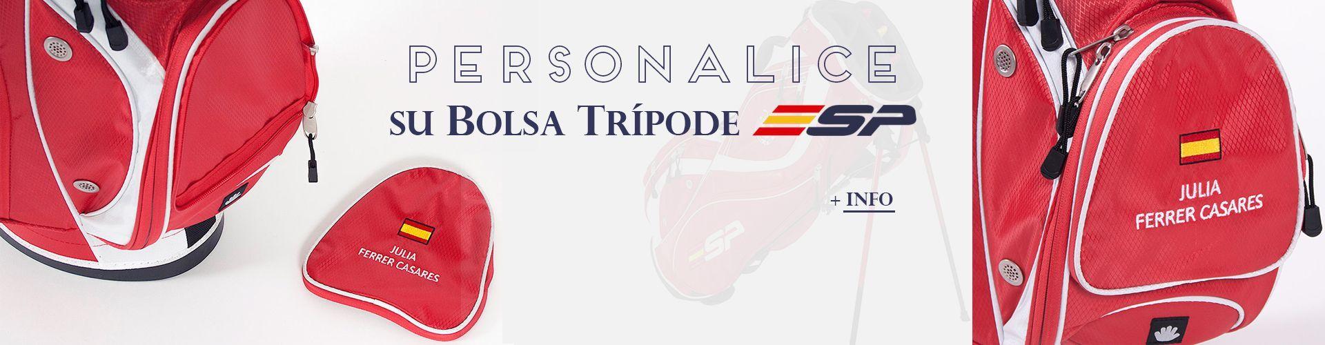Bolsa Trípode ESP  · Real Federación Española de Golf
